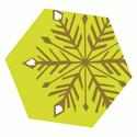 Symbol Schneeflocke